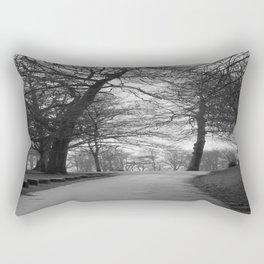 Winter Walks Rectangular Pillow