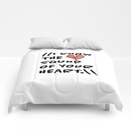 Sound of Your Heart Comforters