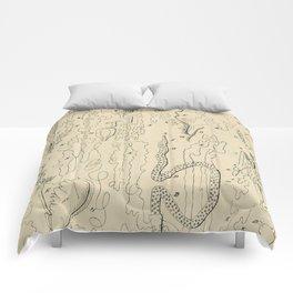 Microscopic Biology Comforters