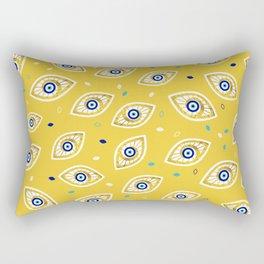 Nazar Eye Amulet pattern #1 Rectangular Pillow