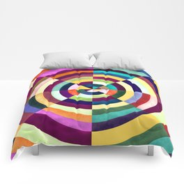 Playing Darts with Colours Comforters