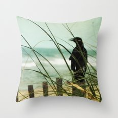 My Love The Sea Throw Pillow