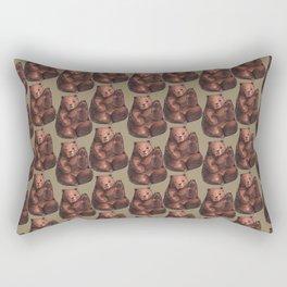 Bear pattern Rectangular Pillow
