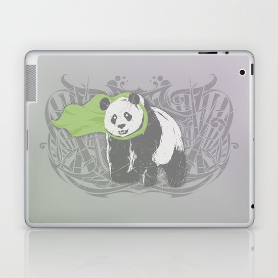 Fearless Creature: Bam Laptop & iPad Skin
