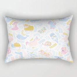 Cute Alphabet Rectangular Pillow