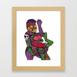 Choke out Framed Art Print