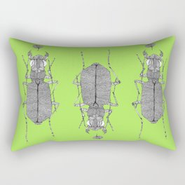 Tiger beetle 1 Rectangular Pillow