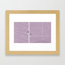 Differences Framed Art Print