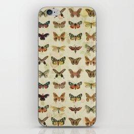 Moths & Butterflies iPhone Skin