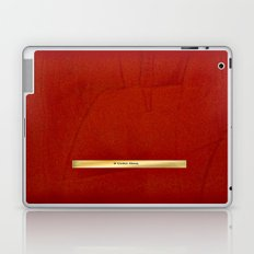Red And Copper Artist Twitter Name Banner - Glam Laptop & iPad Skin