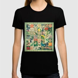 Such a wonderful world - Patchwork T-shirt