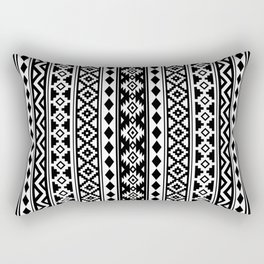 Aztec Essence IIb Black & White Rectangular Pillow