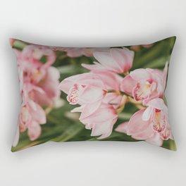 Ice-Cream Orchids Rectangular Pillow