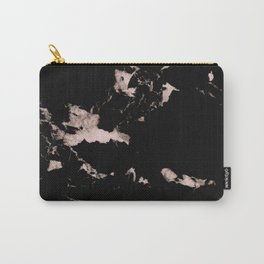 Black Marble #2 #decor #art #society6 Carry-All Pouch