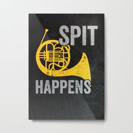 French Horn Player Metal Print