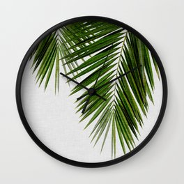 Palm Leaf II Wall Clock