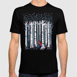The Birches (in Blue) T-shirt