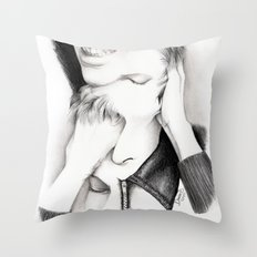 DECONSTRUCTION OF DAVID BOWIE  Throw Pillow