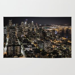 Seattle from the Space Needle Rug