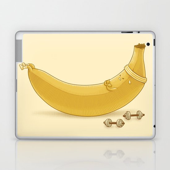 Crunches Laptop & iPad Skin