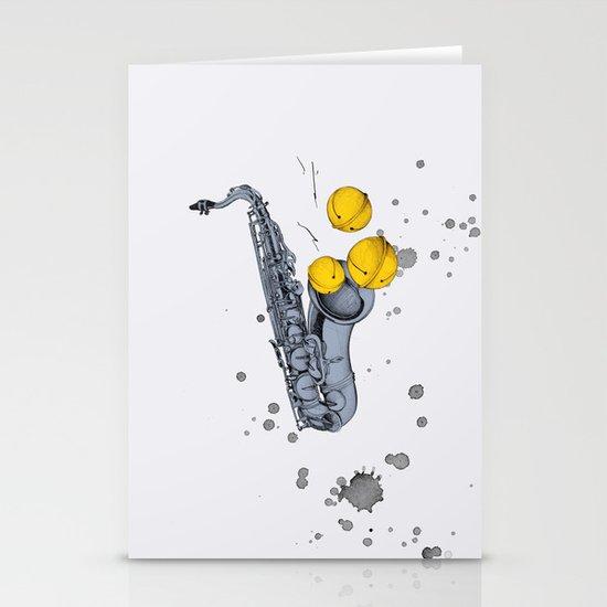 Jazz Jazz Jazz Stationery Cards