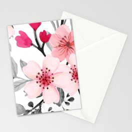 FLOWERS WATERCOLOR 11 Stationery Cards