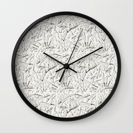 Apocalyptic Weapons  Wall Clock