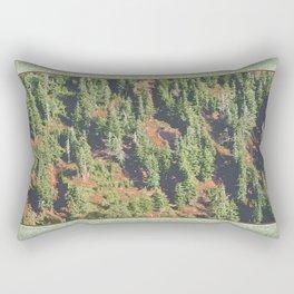 AUTUMN BLUEBERRIES IN OPEN ALPINE FOREST NORTH CASCADE RANGE Rectangular Pillow