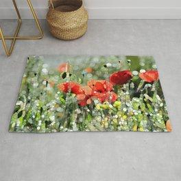 Poppy Mosaic Rug