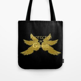 Protected by Gabriel Tote Bag