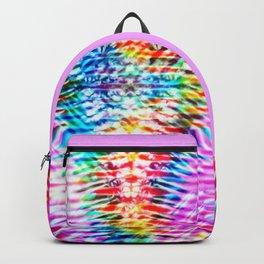 Crumpled Rainbow V Tie Dye Backpack