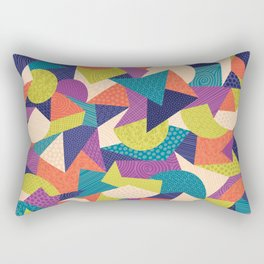 Trendy Abstract Geo Rectangular Pillow