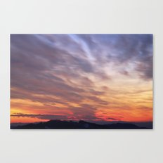 Big sky Canvas Print