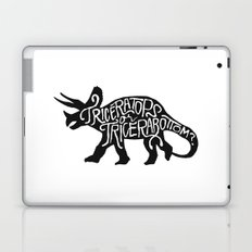 Triceratops or Tricerabottom? Laptop & iPad Skin