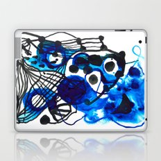 Paint 5 abstract minimal modern painting trendy bold painterly dorm college urban apartment decor Laptop & iPad Skin