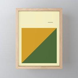 Simple and Modern Framed Mini Art Print