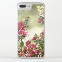 Springtime Bliss Clear iPhone Case