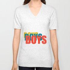 Boys Boys Boys Unisex V-Neck