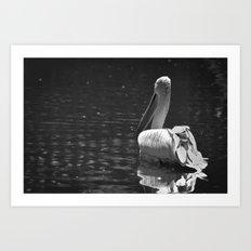 The White Swan Art Print