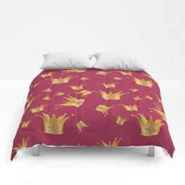 Golden crown Comforters