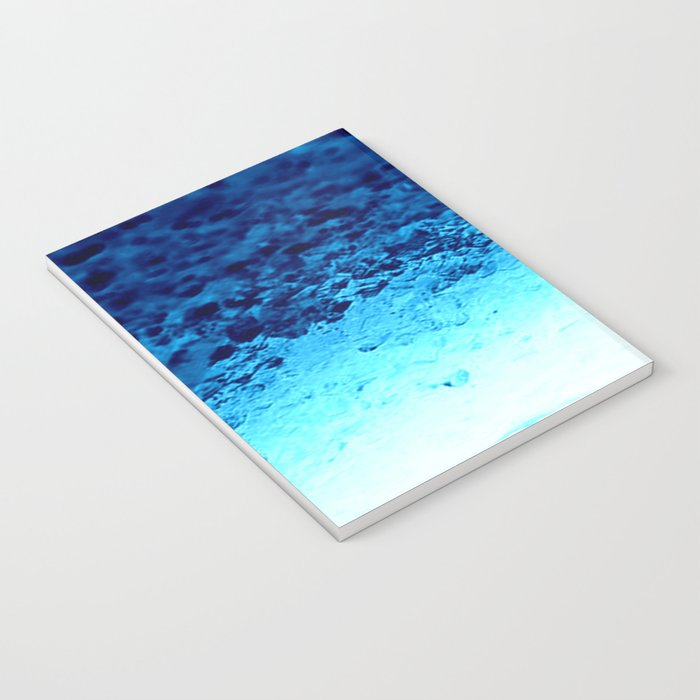 Blue Crystal Ombre Notebook