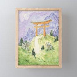Torii Portal Framed Mini Art Print