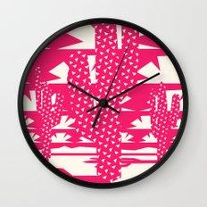 Red Dessert Wall Clock