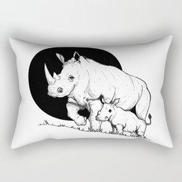 Mom and son Rectangular Pillow