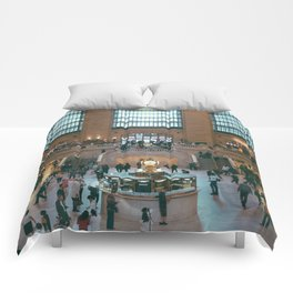 The Amazing Grand Central Station II Comforters
