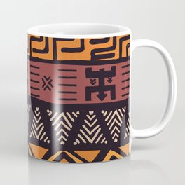 Tribal ethnic geometric pattern 021 Coffee Mug