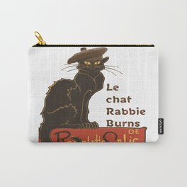 Le Chat Rabbie Burns With Tam OShanter Carry-All Pouch