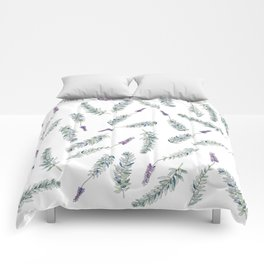 Lavender, Illustration Comforters