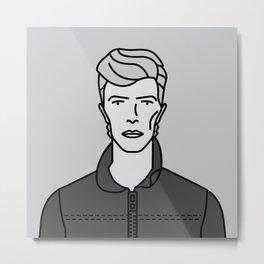 David Bowie - Heroes Metal Print