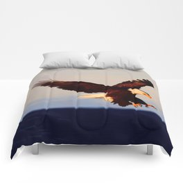 American Bald Eagle Comforters